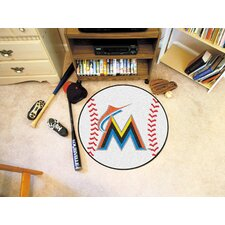 MLB Novelty Baseball Mat