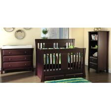 <strong>Kidz Decoeur</strong> Kenora 3-in-1 Convertible Crib Set