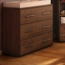 York 3 Drawer Dresser