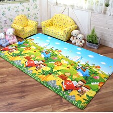 Safari Reversible Kids Playmat