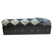 Series 121/125  Twin Mate's Bed with 3 Drawers