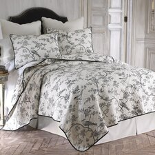<strong>Levtex home</strong> Toile Quilt Set