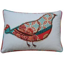 Zanzibar Bird Feather Pillow