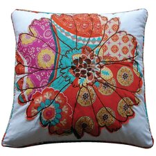 Zanzibar Flower Feather Pillow
