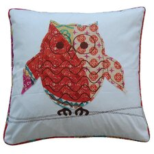Zanzibar Owl Feather Pillow