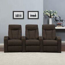 Home Theater Recliner (Row of 3)