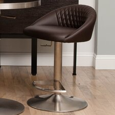 "Nile 23"" Adjustable Height Swivel Bar Stool"