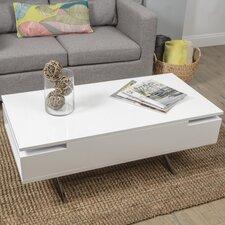 Stelar White Lift-Top Rectangular Coffee Table