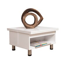 Juno White Functional Multi-Shape Coffee Table