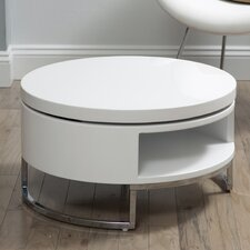 Saphira White Lacquer Coffee Table