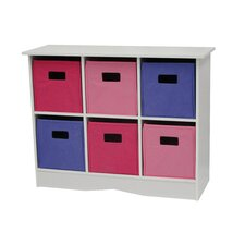 <strong>RiverRidge Kids</strong> 6 Bin Storage Cabinet