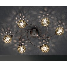Jona 6 Light Semi Flush Light