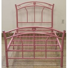 <strong>Hodedah</strong> Twin Metal Bed