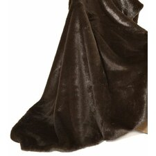 Fancy Furs Grooved Beaver Throw