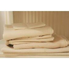 <strong>Natural Mat</strong> Crisp Organic 100% Cotton Percale Fitted Crib Sheets