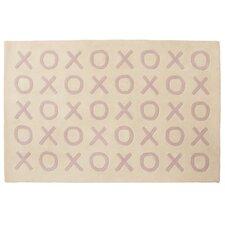 XOXO Pink Kids Rug