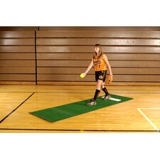Softball Pitching Mat without Stride Line