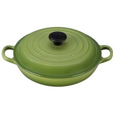 Cast Iron Round Braiser with Lid