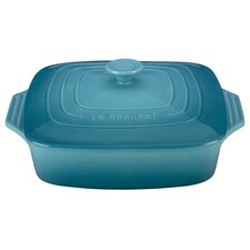 2.75-qt. Covered Stoneware Square Casserole