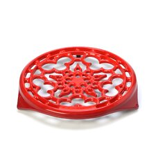 """9"""" Deluxe Round Trivet in Flame"""