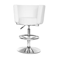 Ultra Adjustable Bar Stool with Cushion