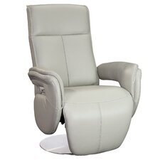 Monica Swivel Armchair Leather Recliner