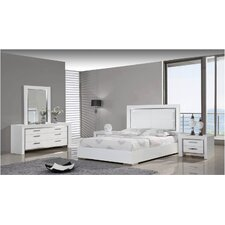 <strong>Whiteline Imports</strong> Ibiza Bedroom Collection