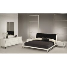 <strong>Whiteline Imports</strong> Bahamas Headboard Bedroom Collection