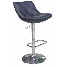 Cindy Adjustable Height Bar Stool with Cushion