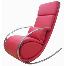 Chloe Rocker Chair and Ottoman