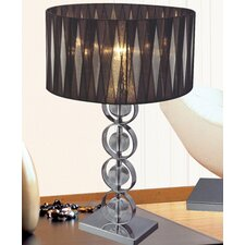 "Margarita 26"" H Table Lamp with Drum Shade"