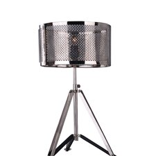 "Claudia Dado 27"" H Table Lamp with Drum Shade"