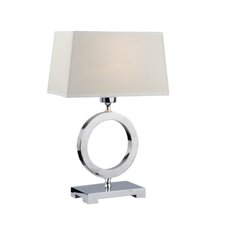 "Dixie 16"" H Table Lamp with Rectangle Shade"
