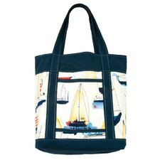 <strong>Scent-Sation</strong> Ships Ahoy Tote Bag