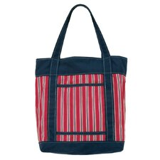 Club House Stripe Tote Bag