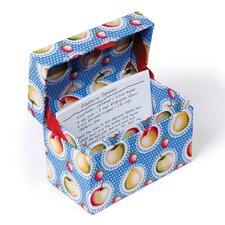 Kitchen Cucina Cherry-O Recipe Box