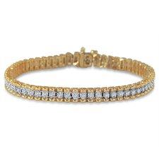 Round Cut Diamond Tennis Bracelet
