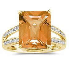 Emerald Cut Gemstone Ring