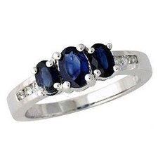 Oval Cut Gemstone Ring