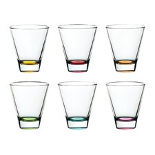 Confetti Double Old Fashioned Thumbler (Set of 6)