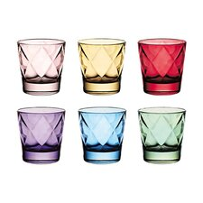 Euforia Double Old Fashioned Glass (Set of 6)