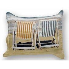 Chairs on the Beach Sham