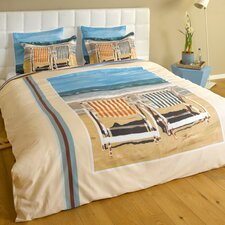 Chairs on the Beach 3 Piece Duvet Set