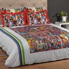 <strong>ARTnBED</strong> Hindley Street 3 Piece Duvet Set