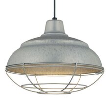 R Series 1 Light Pendant