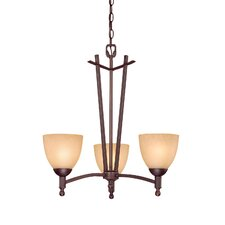 <strong>Millennium Lighting</strong> Racine 3 Light Chandelier