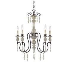 <strong>Millennium Lighting</strong> Denise 5 Light Mini Chandelier