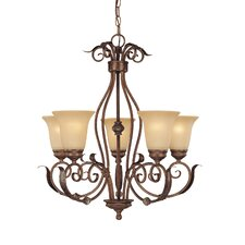 <strong>Millennium Lighting</strong> Roanoke 5 Light Chandelier
