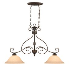 Alma 2 Light Kitchen Pendant Lighting