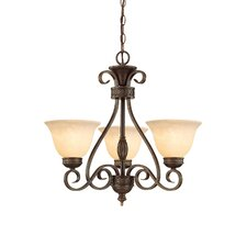 Alma 3 Light Chandelier